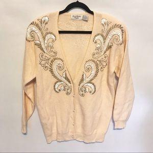 Vintage Marissa Christina Lambswool Angora Sweater